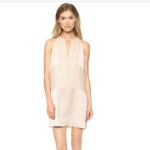NWT Parker Heatia dress in champagne color
